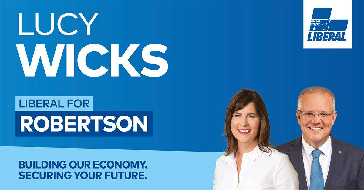 Lucy Wicks | Liberal Party of Australia