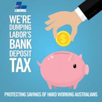 Dumping Labor's Deposit Tax
